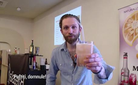 Cel mai apreciat barman american a venit la Cluj pentru a le da lectii romanilor. Bauturile, la moda in aceasta vara