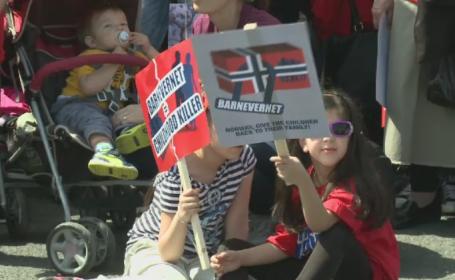 Romanii au iesit in strada, in 15 orase, in semn de solidaritate fata de familia Bodnariu: \
