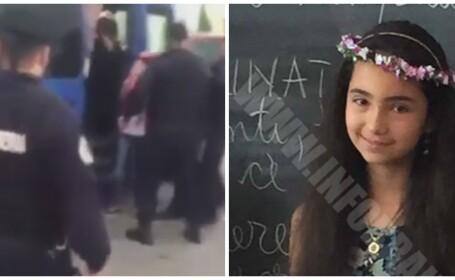 Fetita de 11 ani din Braila, luata pe sus si bagata in duba politiei. Care a fost motivul. VIDEO