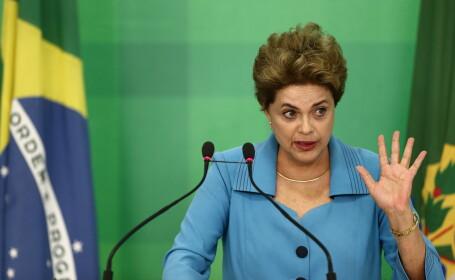 Reactia presedintelui Braziliei, la un pas de destituire: \