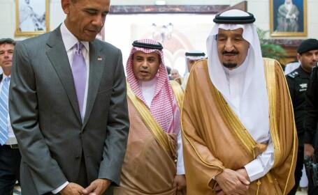 Barack Obama, Arabia Saudita,