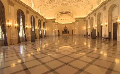 Palatul Regal de pe Calea Victoriei si-a deschis portile. Puteti vizita gratuit Sufrageria Regala sau Sala Tronului