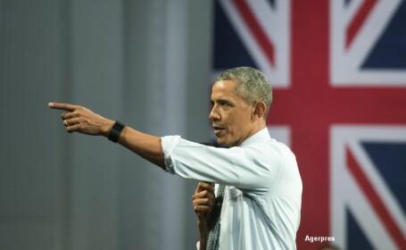 Barack Obama, vizita in Marea Britanie