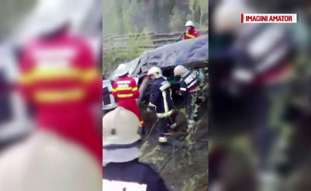 Inca un deces in urma accidentului din Suceava. Tragedia, provocata de un calugar care avea masina cu volan pe dreapta