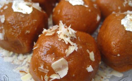 Laddos - prajitura traditionala din India si Pakistan