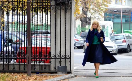 Elena Udrea soseste la sediul Inaltei Curti de Casatie si Justitie (ICCJ) unde se dezbate un nou termen in dosarul 'Gala Bute'.
