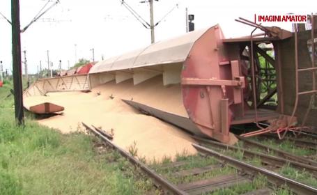 tren deraiat Craiova