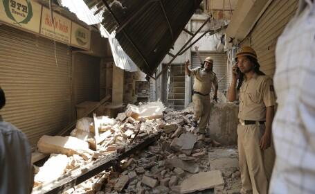 cladire prabusita India- Agerpres
