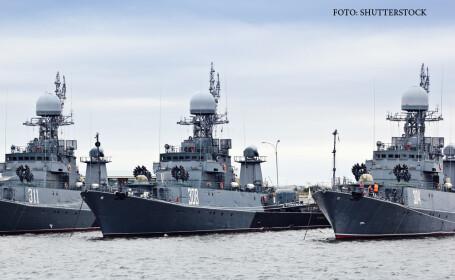 Rusia ameninta oficial Romania din cauza proiectului unei flote NATO in Marea Neagra. \