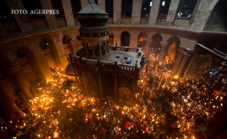 Lumina Sfanta la Ierusalim