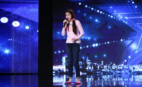 Laura Bretan, finalista Romanii au talent