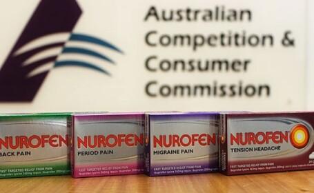 Decizia anuntata in scandalul medicamentului Nurofen. Compania Reckitt Benckiser, obligata sa plateasca penalizari uriase