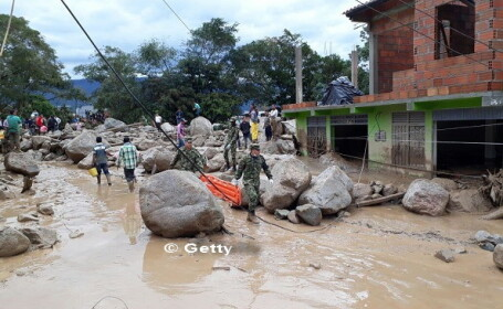 Columbia, Mocoa, alunecare de teren - 9