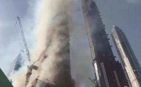 Burj Khalifa, Dubai, incendiu,