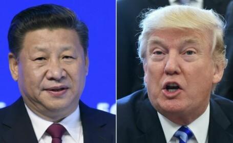 Donald Trump, Xi Jinping,