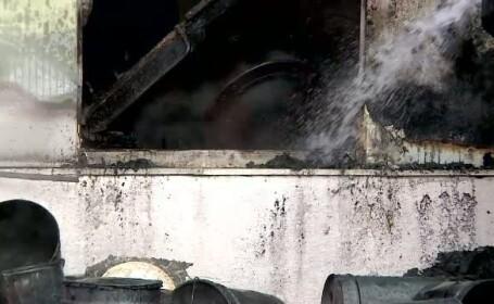 Alarma la un liceu din Mangalia, din cauza unui incendiu care a izbucnit la subsolul cladirii. Ce s-a intamplat cu elevii