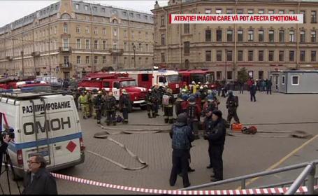 Parintii presupusului autor al atacului din St. Petersburg, audiati. Prima declaratie facuta de mecanicul metroului
