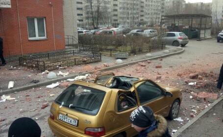 explozie la un bloc din Sankt Petersburg