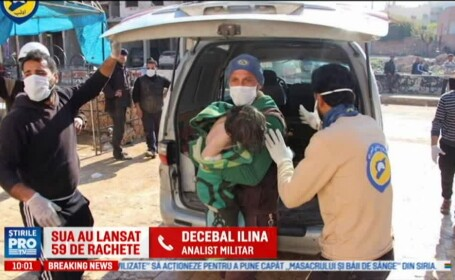 Generalul Decebal Ilina, la Pro TV: \