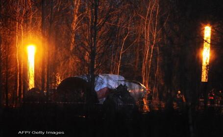 Avionul prezidential polonez s-ar fi dezintegrat in aer, inainte de a se prabusi la Smolensk. Dezvaluiri dupa ultima analiza