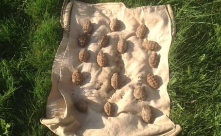 21 de grenade gasite in ultimele 24 de ore pe camp, in comuna Gherghita, judetul Prahova