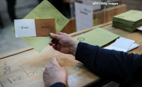 Vot referendum Turcia