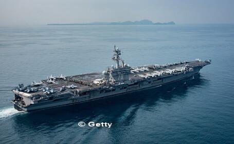 casa alba, flota americana, coreea de nord, donald trump, Carl Vinson