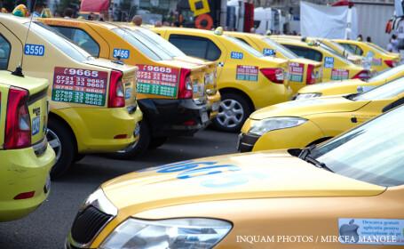 protest taximetristi