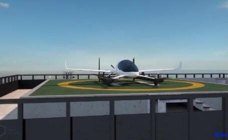 O companie de taximetrie va lansa, in mai putin de trei ani, taxiul zburator. Unde va circula