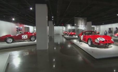 Expozitie deosebita la muzeul auto din Los Angeles, dedicata lui Enzo Ferrari. Prima sa masina de curse, in colectie