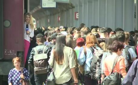 CFR a suplimentat vagoanele cu 8000 de locuri pentru 1 Mai. Studentii au gratuitate, iar elevii au o reducere de 50%