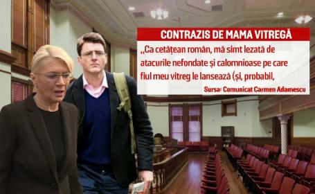 Batalie dura pentru averea de 800 mil. euro lasata de Dan Adamescu. Fiul, Alexander, acuzat de mama vitrega: \