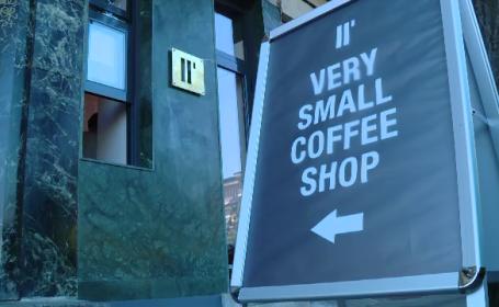 Are doar 6 metri patrati, este cea mai mica din Europa si se afla in Bucuresti. Cum arata cafeneaua