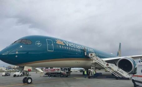 Un avion Vietnam Airlines a aterizat de urgență pe Aeroportul Otopeni. Ce s-a întâmplat la bord