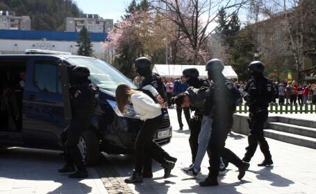 Manifestări de Ziua Jandarmeriei Române, la Reșița