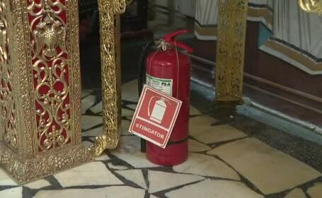 Măsuri de siguranţă în biserici de Înviere. \