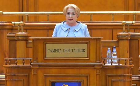 Viorica Dancila, parlament