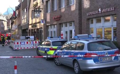 """Primele mărturii, după atacul din Munster: """"Ne-a fost frică să nu explodeze o bombă sau să fim împușcați"""""""