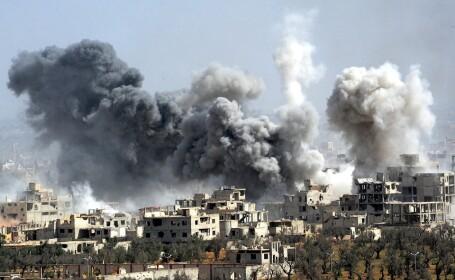 atac cu rachete in Siria