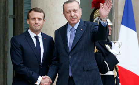 Erdogan si Macron