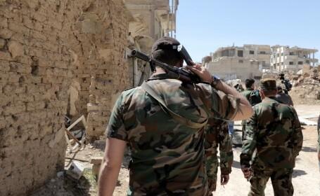 soldat ai regimului Assad