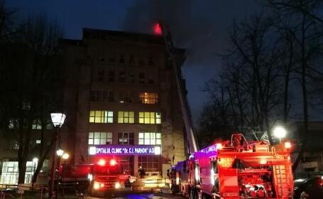 Incendiu la un spital fără autorizația de securitate ISU. 120 de pacienți evacuați