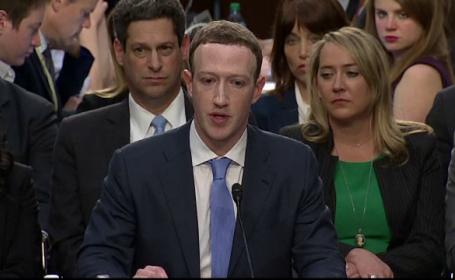 """Audierea lui Mark Zuckerberg: """"Am identificat cu întârziere operaţiunile ruseşti din 2016"""""""