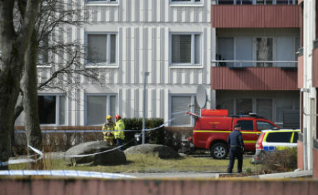 bombă detonată Suedia