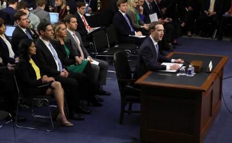 """A doua zi de audieri a lui Zuckerberg: """"Și datele mele au fost folosite"""""""