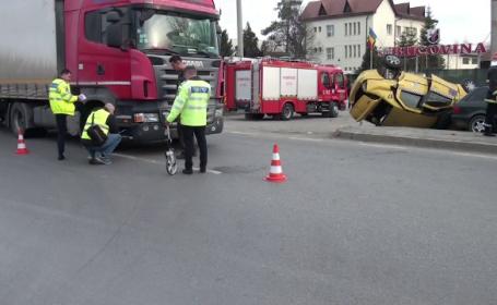 Accident la Suceava