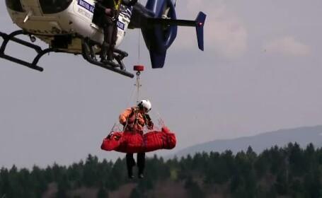 Trupurile celor 3 turiști dispăruți în Munții Făgăraș, recuperate de salvatori