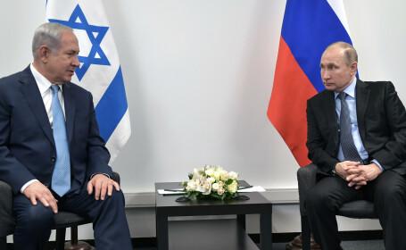 Atmosferă tensionată. Vladimir Putin l-a sunat pe premierul Israelului