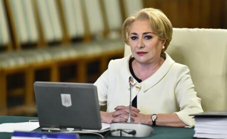 """Viorica Dăncilă a găsit un nou mod de a pronunța """"EURO 2020"""""""