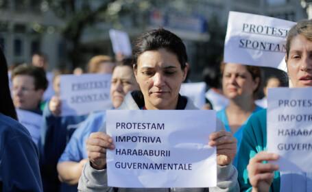 proteste la C.C. Iliescu